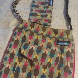 Kavu crossbody with matching wallet